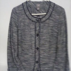 JJill Jacket, Button Down, Size M